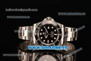Rolex Sea-Dweller Swiss ETA 2836 Automatic Steel Case/Bracelet with White Dot Markers and Black Dial - 1:1 Original (NOOB)