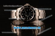 Rolex Sea-Dweller Clone Rolex 3135 Automatic Steel Case with Black Dial and Steel Bracelet - (BP)