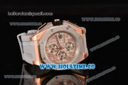 Audemars Piguet Royal Oak Offshore Chronograph Lebron James Swiss Valjoux 7750 Automatic Rose Gold Case with Steel Bezel and Grey Dial (EF)