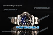 Rolex Deepsea Sea-Dweller D-Blue Edition Dive Swiss ETA 2836 Automatic Full Steel with D-Blue Dial White Markers and Black Bezel - 1:1 Original (NOOB)