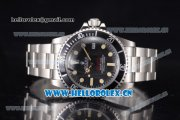 Rolex Sea-Dweller Swiss ETA 2836 Automatic Stainless Steel Case/Bracelet with Black Dial and Dot Markers