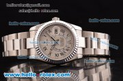Rolex Sky-Dweller Asia 2813 Automatic Steel Case/Strap with Grey Dial and Roman Markers
