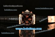 Rolex Daytona II Asia 3836 Automatic Rose Gold Case with Black Bezel and White Stick Markers