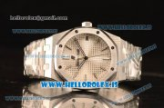 Audemars Piguet Royal Oak 41 4302 1:1 Clone White Dial Steel Case and Bracelet