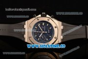 Audemars Piguet Royal Oak Offshore Chronograph Swiss Valjoux 7750 Automatic Steel Case with Black Dial and White Arabic Numeral Markers (GF)