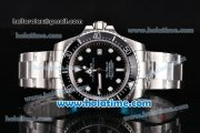 Rolex Sea-Dweller Asia 2813 Automatic Steel Case/Bracelet with Black Bezel and White Markers