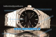 Audemars Piguet Royal Oak 41 4302 1:1 Clone Black Dial Steel Case and Bracelet