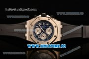 Audemars Piguet Royal Oak Offshore Chronograph Swiss Valjoux 7750 Automatic Steel Case with White Dial and Arabic Numeral Markers (GF)
