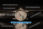 Rolex Cellini Time Swiss ETA 2824 Automatic Steel Case White Dial Stick Markers With Steel Bezel Black Leather Strap