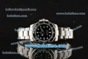 Rolex Sea-Dweller Swiss ETA 2836/Rolex 3135 Automatic Steel Case/Bracelet with Black Dial and White Markers