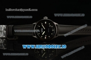 BlancPain Fifty Fathoms Bathyscaphe Miyota 9015 Automatic PVD Case Black Dial With Dots Markers Black Rubber Strap - 1:1 Original(GF)