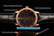 Omega De Ville Co-Axial Asia Automatic Rose Gold Case with Black Dial and Roman Numeral Markers