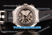 Audemars Piguet Royal Oak Concept Laptimer Michael Schumacher Limited Edition Miyota Quartz Steel Case with Skeleton Dial and Black Rubber strap