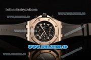 Audemars Piguet Royal Oak Offshore Chronograph Swiss Valjoux 7750 Automatic Steel Case with Blue Dial and White Arabic Numeral Markers (GF)